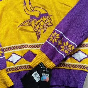 Nfl Sweaters Minnesota Vikings Ugly Christmas Sweater Sz S Poshmark